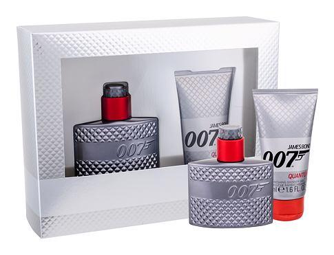 James Bond 007 Quantum EDT dárková sada pro muže - EDT 30 ml + sprchový gel 50 ml