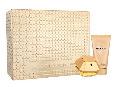 Paco Rabanne Lady Million EDP dárková sada pro ženy - EDP 50 ml + tělové mléko 75 ml