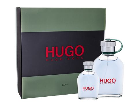 HUGO BOSS Hugo Man EDT dárková sada pro muže - EDT 125 ml + EDT 40 ml