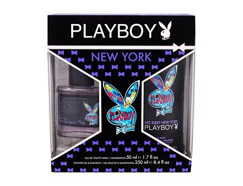 Playboy New York For Him EDT dárková sada pro muže - EDT 50 ml + sprchový gel 250 ml