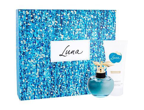 Nina Ricci Luna EDT dárková sada pro ženy - EDT 80 ml + tělové mléko 100 ml