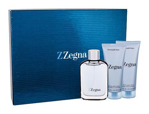 Ermenegildo Zegna Z Zegna EDT dárková sada pro muže - EDT 100 ml + balzám po holení 100 ml + sprchový gel 100 ml