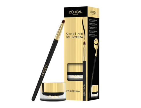 L´Oréal Paris Super Liner Gel Intenza 24h 2,8 g oční linka 01 Pure Black pro ženy