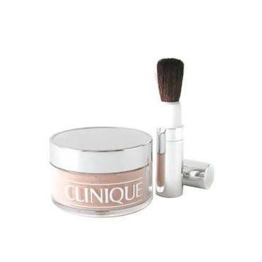Clinique Blended Face Powder And Brush 35 g pudr 08 Transparency Neutral pro ženy