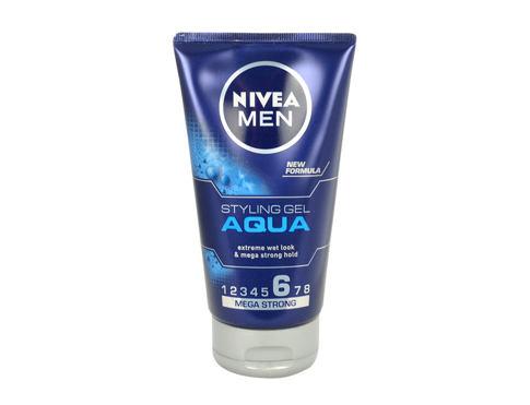 Nivea Men Aqua 150 ml gel na vlasy pro muže