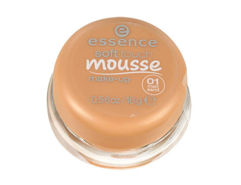Essence Soft Touch Mousse 16 g makeup 01 Matt Sand pro ženy