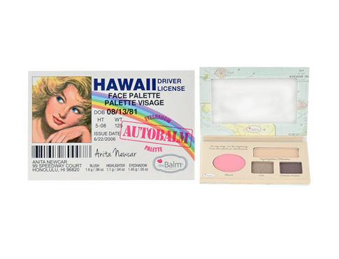 TheBalm Autobalm Hawaii dekorativní kazeta dárková sada pro ženy - Face Palette