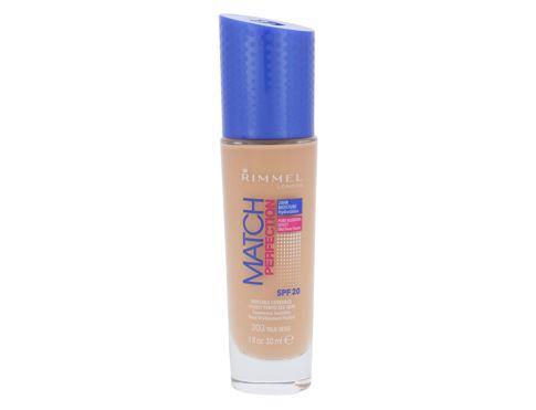 Rimmel London Match Perfection SPF20 30 ml makeup 203 True Beige pro ženy