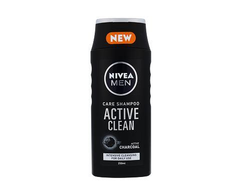 Nivea Men Active Clean 250 ml šampon pro muže
