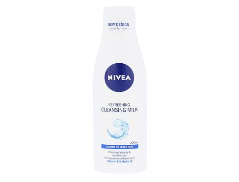 Nivea Refreshing 200 ml čisticí mléko pro ženy