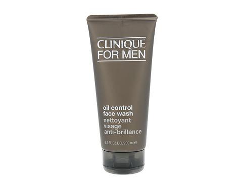 Clinique For Men Oil Control Face Wash 200 ml čisticí gel pro muže