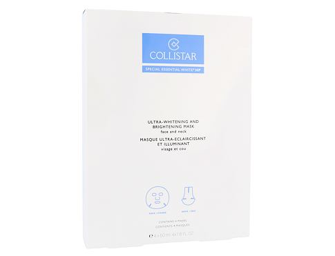Collistar Special Essential White HP Ultra-Whitening Mask 4x50 ml pleťová maska pro ženy