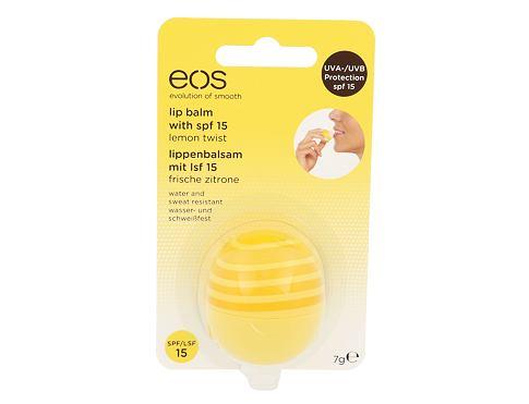 EOS Lip Balm SPF15 7 g balzám na rty Lemon Twist pro ženy