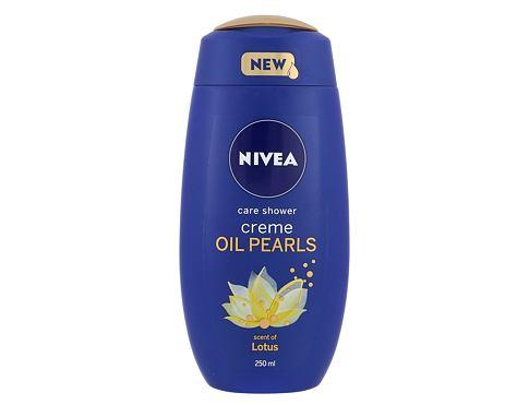 Nivea Creme Oil Pearls Lotus 250 ml sprchový gel pro ženy