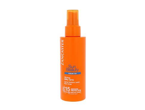 Lancaster Sun Beauty Oil-Free SPF15 150 ml opalovací přípravek na tělo pro ženy