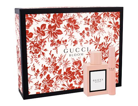Gucci Bloom EDP dárková sada pro ženy - EDP 50 ml + EDP 7,4 ml