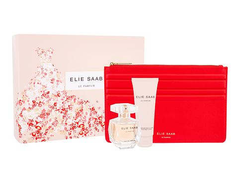 Elie Saab Le Parfum EDP dárková sada pro ženy - EDP 50 ml + tělové mléko 75 ml + psaníčko