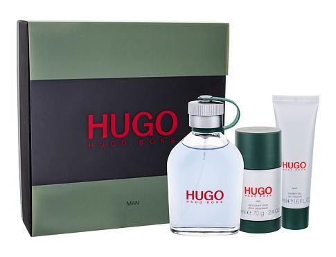 HUGO BOSS Hugo Man EDT dárková sada pro muže - EDT 125 ml + sprchový gel 50 ml + deostick 75 ml