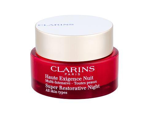 Clarins Super Restorative Night 50 ml noční pleťový krém pro ženy