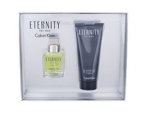Calvin Klein Eternity For Men EDT dárková sada pro muže - EDT 30 ml + sprchový gel 30 ml