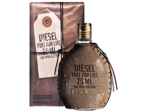 Diesel Fuel For Life Homme 75 ml EDT Tester pro muže