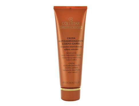Collistar Body-Legs Self-Tanning Cream 125 ml samoopalovací přípravek pro ženy