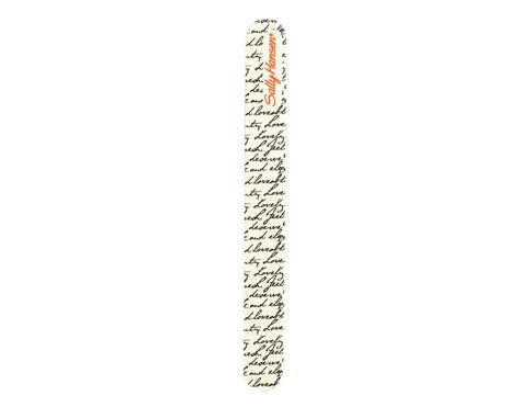 Sally Hansen Nail Shaper 1 ks pilník Letters pro ženy