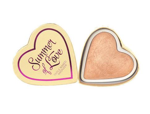 Makeup Revolution London I Heart Makeup Summer Of Love 10 g bronzer Summer Of Love pro ženy