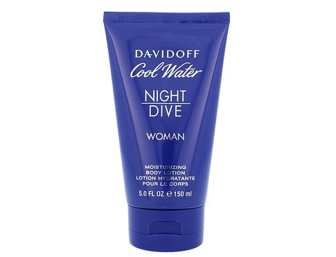 Davidoff Cool Water Night Dive Woman 150 ml tělové mléko pro ženy