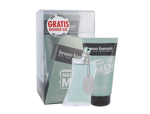 Bruno Banani Made For Men EDT dárková sada pro muže - EDT 50 ml + sprchový gel 150 ml