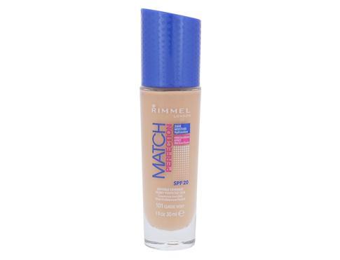 Rimmel London Match Perfection SPF20 30 ml makeup 101 Classic Ivory pro ženy
