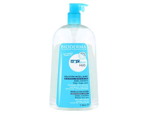 BIODERMA ABCDerm H2O Micellar Water 1000 ml micelární voda unisex