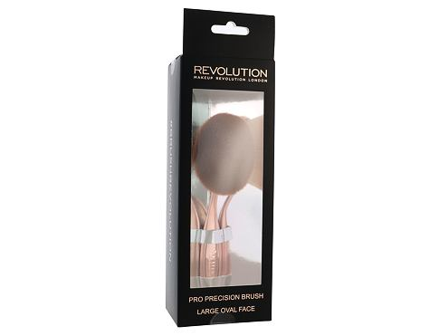 Makeup Revolution London Brushes Pro Precision Brush Large Oval Face 1 ks štětec pro ženy
