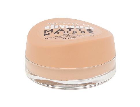 Maybelline Dream Matte Mousse SPF15 18 ml makeup 10 Ivory pro ženy
