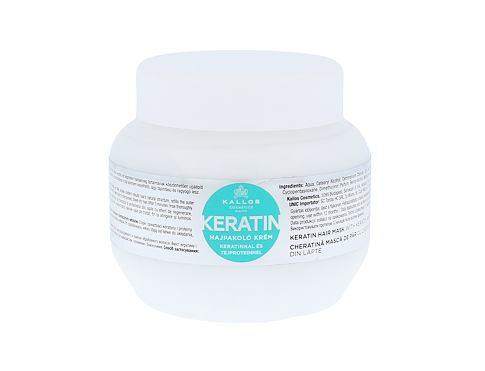 Kallos Cosmetics Keratin 275 ml maska na vlasy pro ženy