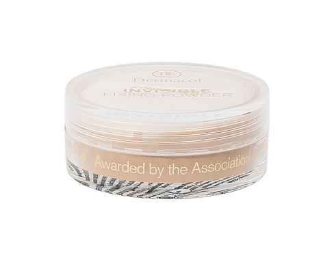 Dermacol Invisible Fixing Powder 13 g pudr Natural pro ženy