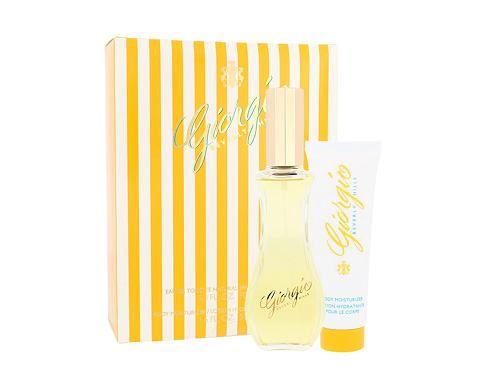 Giorgio Beverly Hills Giorgio EDT dárková sada pro ženy - EDT 90 ml + tělové mléko 50 ml