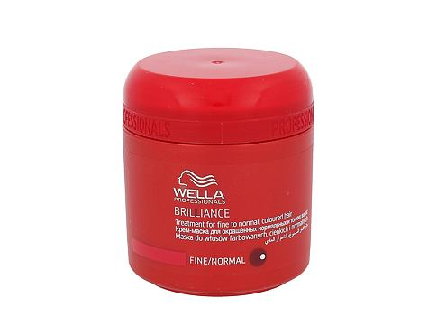 Wella Brilliance Normal Hair 150 ml maska na vlasy pro ženy