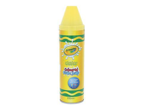 Crayola Coloured Foam Soap 200 ml sprchová pěna Canary unisex