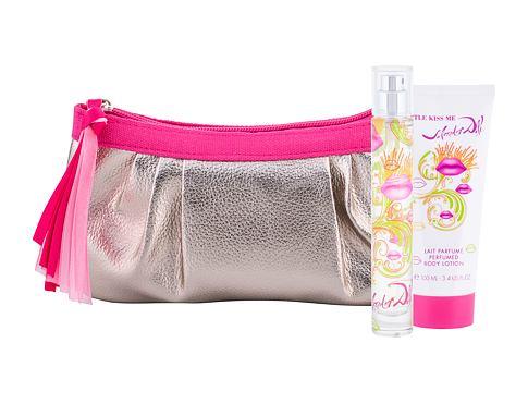 Salvador Dali Little Kiss Me EDT dárková sada pro ženy - EDT 30 ml + tělové mléko 100 ml + kosmetická taška