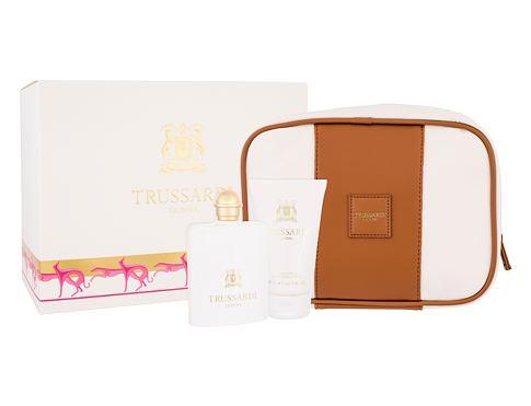 Trussardi Donna 2011 EDP dárková sada pro ženy - EDP 100 ml + tělové mléko 100 ml + kosmetická taška