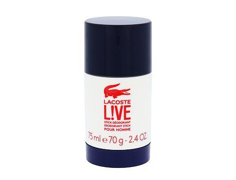 Lacoste Live 75 ml deodorant Deostick pro muže