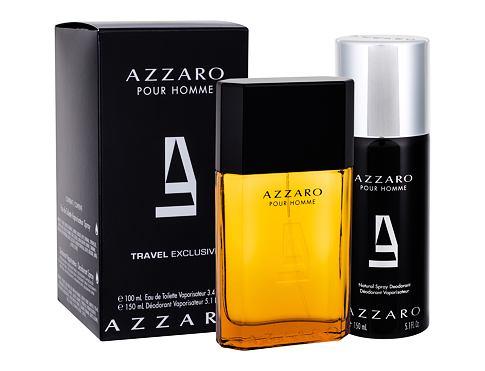 Azzaro Azzaro Pour Homme EDT dárková sada pro muže - EDT 100 ml + deodorant 150 ml