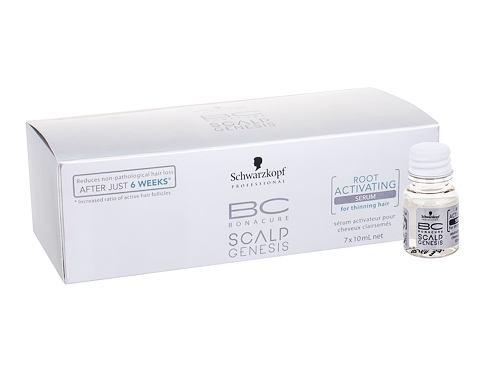 Schwarzkopf BC Bonacure Scalp Genesis Root Activating Serum 7x10 ml přípravek proti padání vlasů pro ženy
