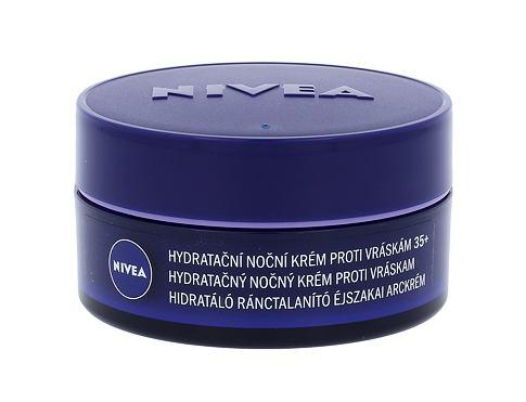 Nivea Anti Wrinkle + Moisture 50 ml noční pleťový krém pro ženy