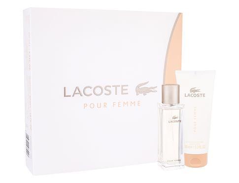 Lacoste Pour Femme EDP dárková sada pro ženy - EDP 50 ml + tělové mléko 100 ml