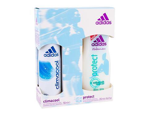 Adidas Climacool antiperspirant dárková sada pro ženy - Antiperspirant 150ml + 250ml sprchový gel Protect