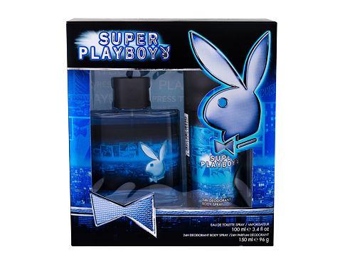 Playboy Super Playboy For Him EDT dárková sada pro muže - EDT 100 ml + deodorant 150 ml
