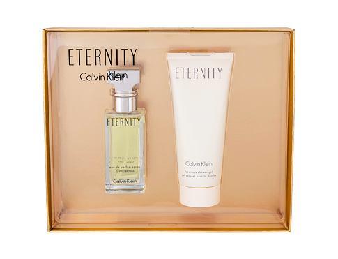 Calvin Klein Eternity EDP dárková sada pro ženy - EDP 30 ml + sprchový gel 100 ml